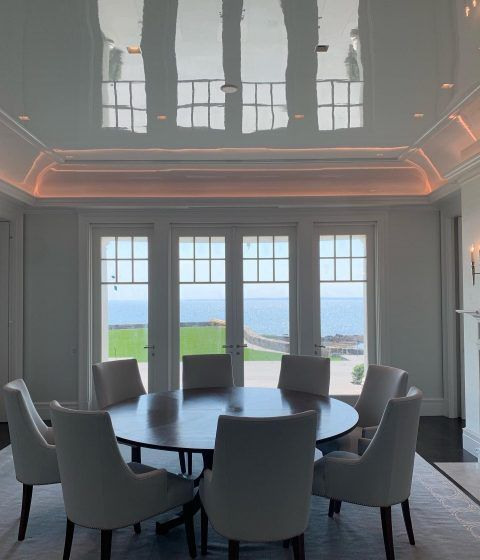 ceiling overlooking the beach