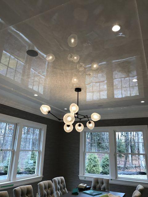 tan ceiling